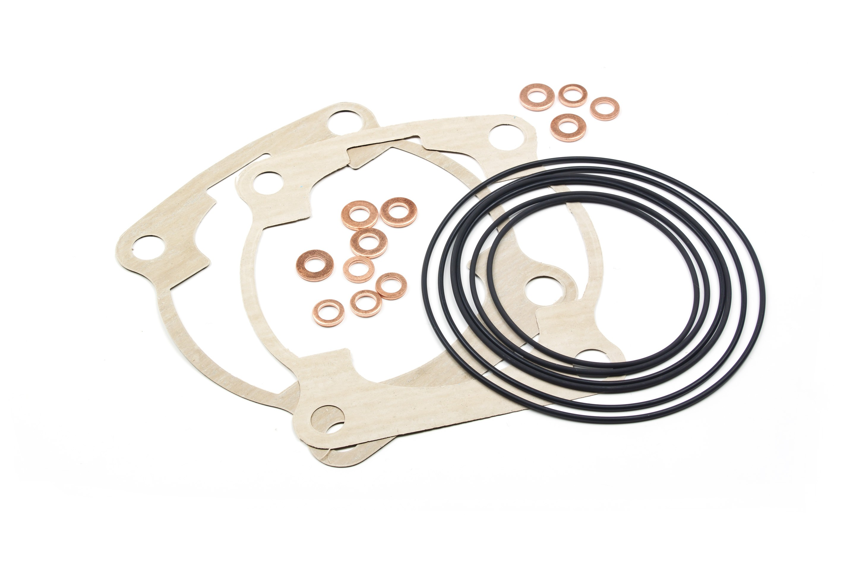 Kit o-rings head, and top end gaskets