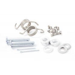 Bolts KIT 30u. Stainless steel for Hard Rock footrest