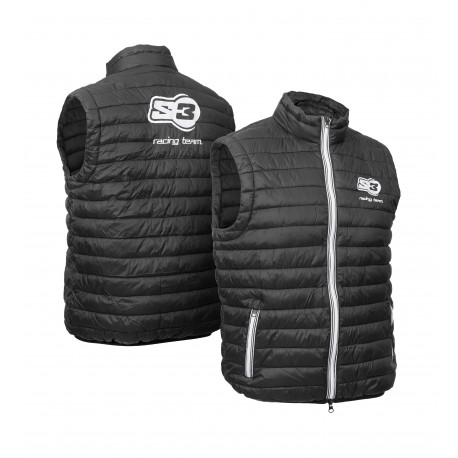 S3 Black Sleeveless Gilet