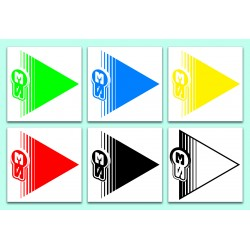 Signaling arrows areas Trial / Enduro (kit 50u.)