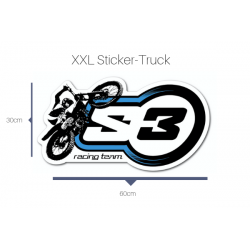 Sticker Truck Size