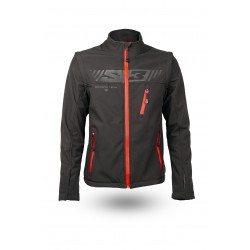 Soft Shell Protec Jacket Black