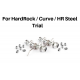 Spare parts kit for HardRock/Curve/HR steel.  Footpegs