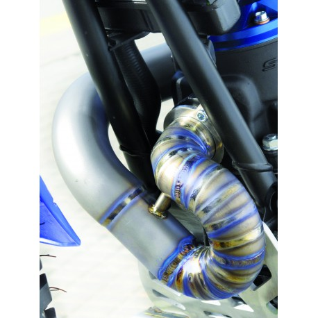 Exhaust pipe Titanium  for Sherco / Scorpa 2ST 2014, 2015, 2016